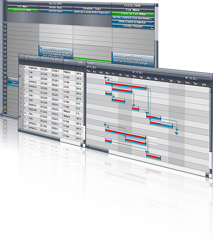 Click to view MindFusion.Scheduling for WPF 3.1 screenshot