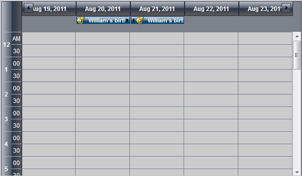 Calendar And Scheduling Asp Net Component Timetable