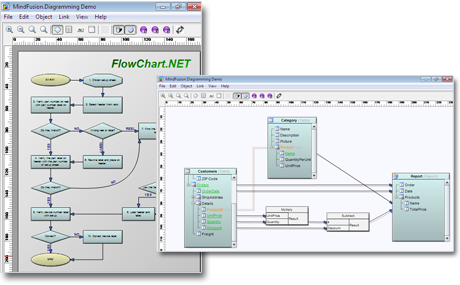 MindFusion.Diagramming für WinForms - .NET Diagramm Control, .NET ...