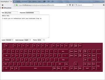 JavaScript Virtual Keyboard | Interactive Keyboard Library