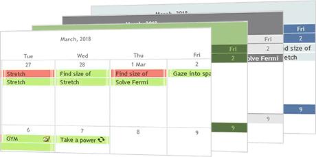 JavaScript Scheduler | Interactive Event Calendar in