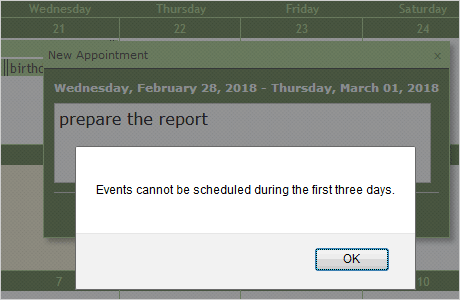 JavaScript Scheduler | Interactive Event Calendar in JavaScript by