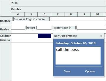 JavaScript Scheduler   Interactive Event Calendar in