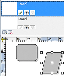 WinForms Diagram Component: LayerListView Control