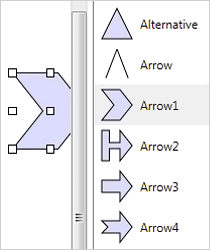 WPF Diagram Component: ShapeListBox Control