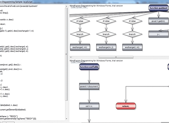 Samples   MindFusion Diagramming for Winforms