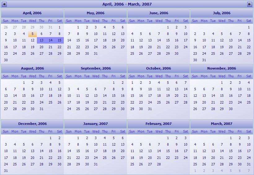 Calendar Planner Vb : Planner kalender und zeitplannung komponente c